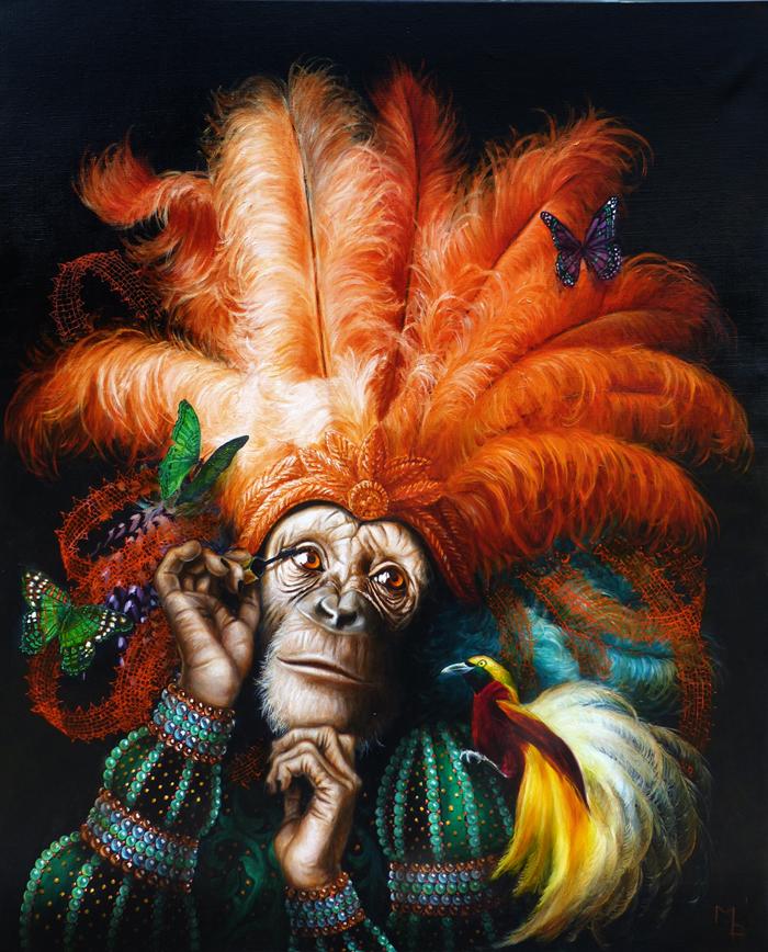 monkey art