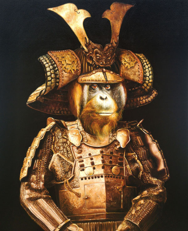 monkey samurai