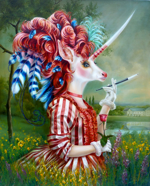 unicorn art painting