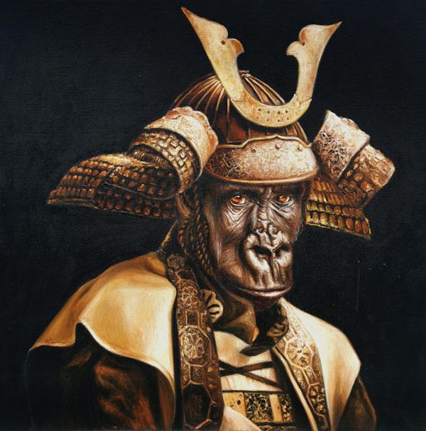 monkey samurai